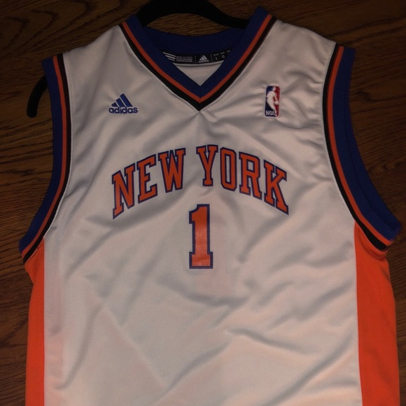 the latest 6ce4d a32e4 Amare Stoudemire Knick's away jersey